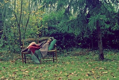 sleep,alone,asleep,garden,photography,feel,forest-277273dbcd33e7b980ef076863c6ac83_h_large